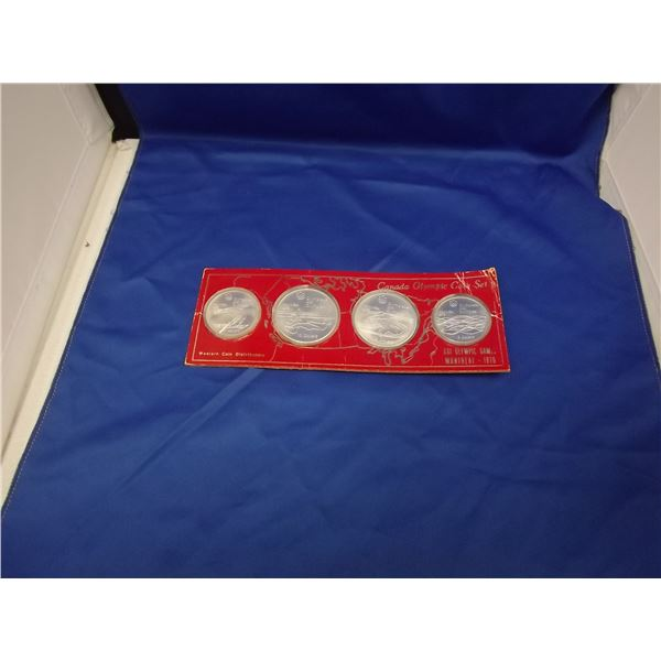 1976 MONTREAL OLYPMIC GAMES SILVER COIN SET