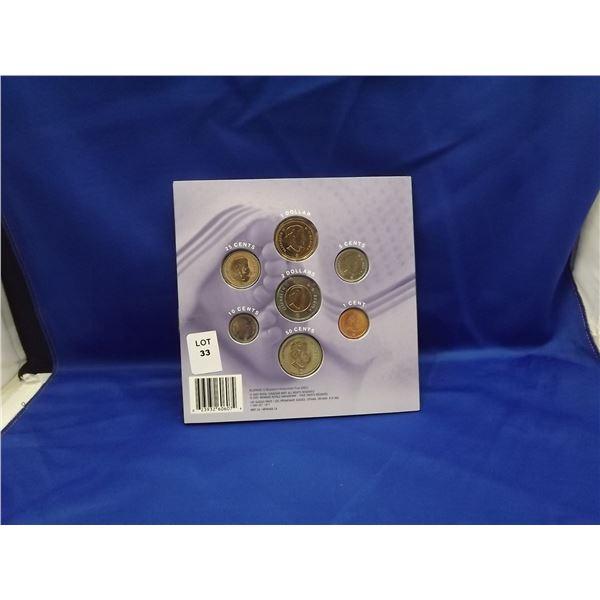 2007 COMMEMORATIVE ROYAL CNDN MINT COIN SET