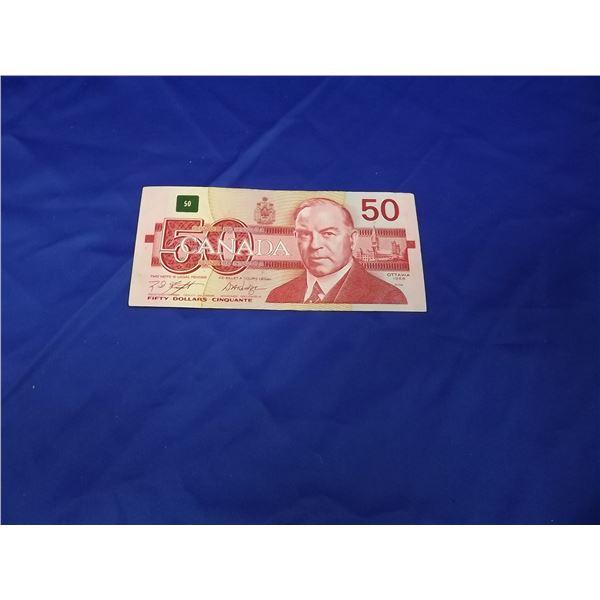 1988 CNDN $50 BILL