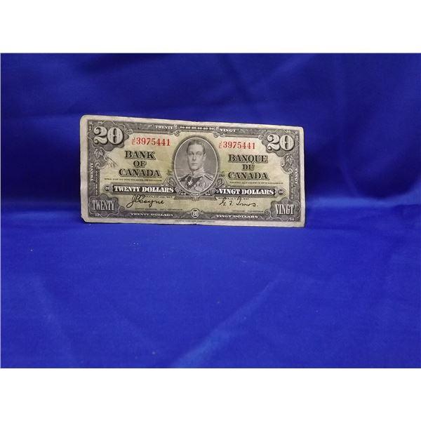 1937 CNDN $20 BILL