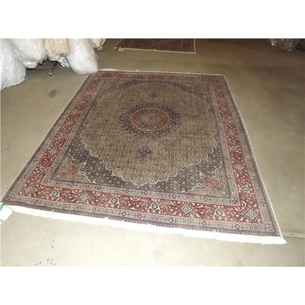 AUTHENTIC 8.1FT X 6.6FT BIRJAND FLORAL/ MEDALLION PRESIAN