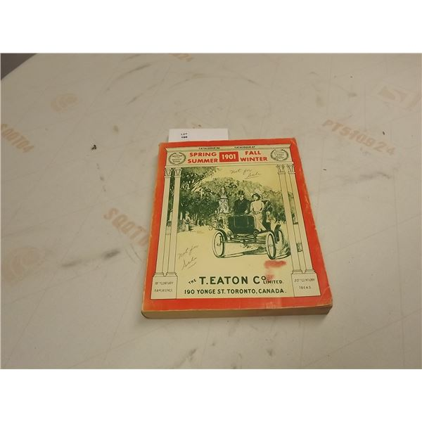 COLLECTIBLE 1901 T. EATON CO. LTD CATALOGUE