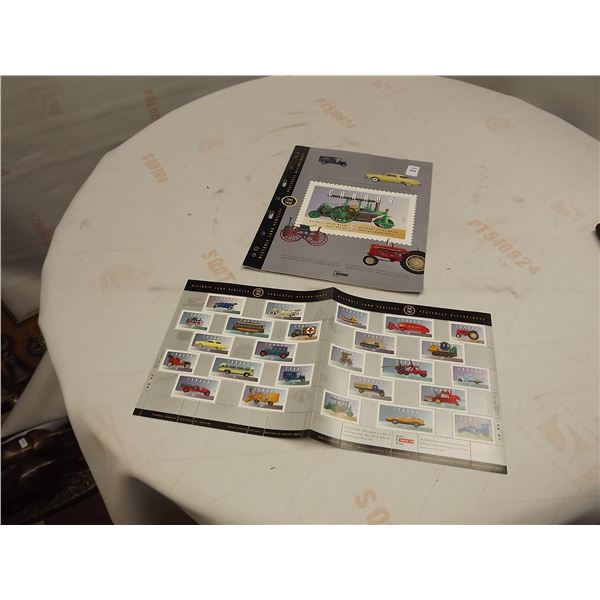 CANADA NUMBER 5 HISTORICAL VEHICLES STAMPS