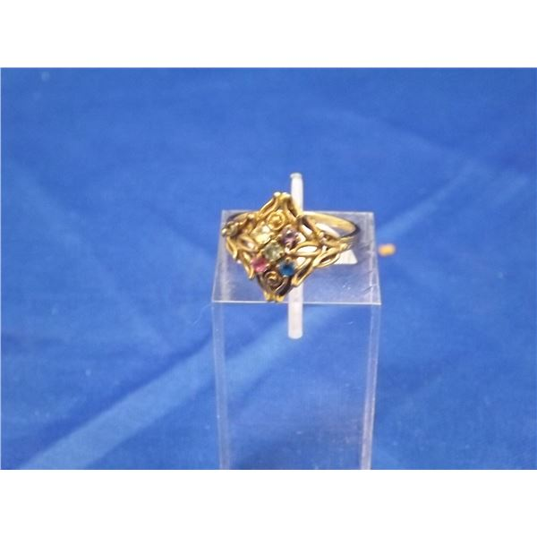 10K GOLD LADIESFAMILY RING