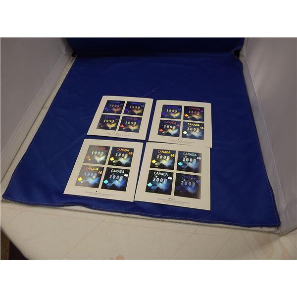 46 CENT SILVER HOLOGRAM 1999 - 2000 STAMPS