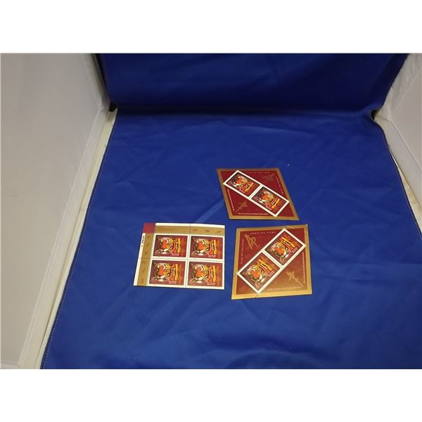 YEAR OF THE TIGER 2 STAMP SET AND 4 STAMP SET