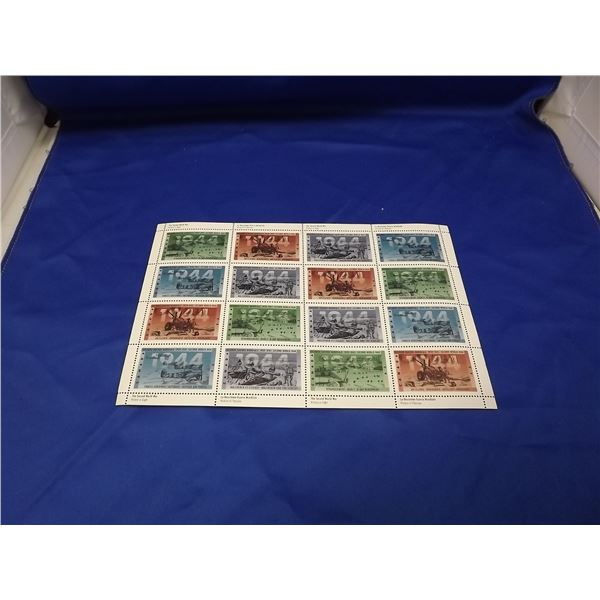 CANADA STAMPS SECOND WORLD WAR - 1944