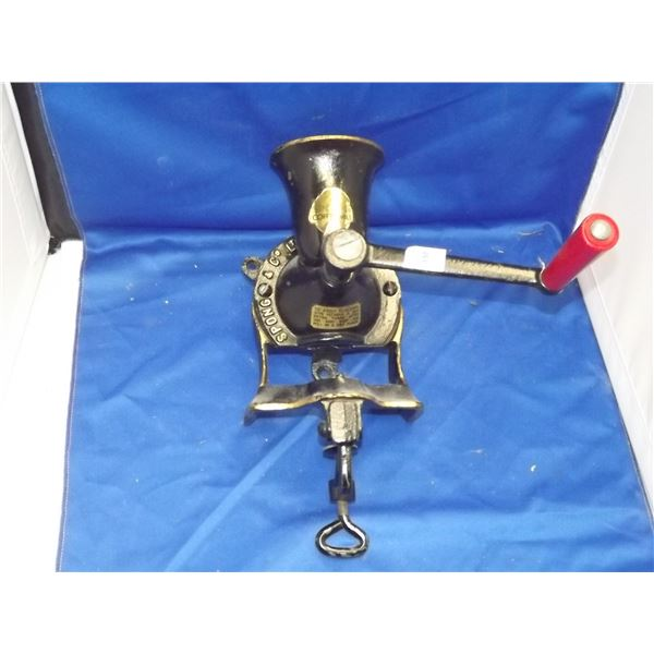 SPONG COFFEE MILL ANTIQUE