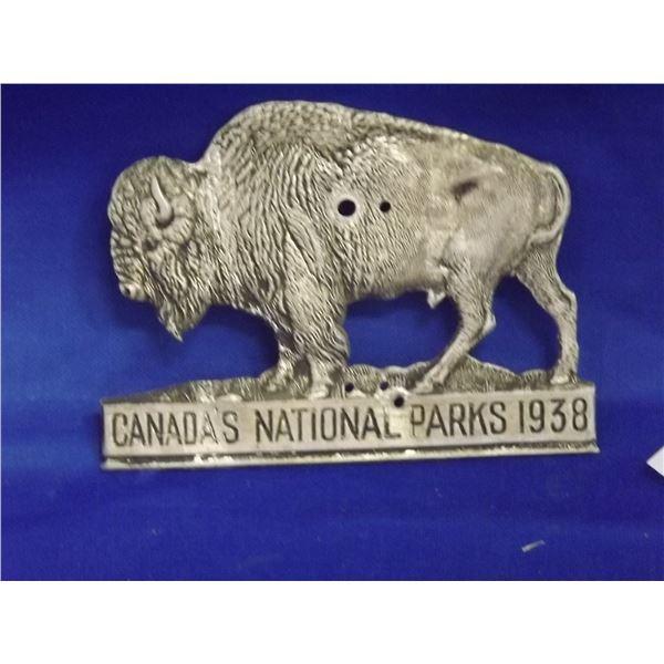 1938 CANADA'S NATIONAL PARK EMBLEM
