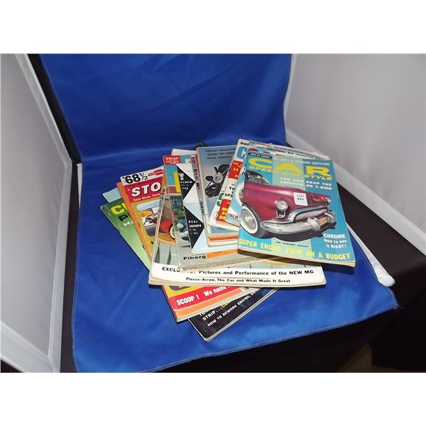 1960'S 1970'S HOTROD MAGAZINES 19 IN A LOT
