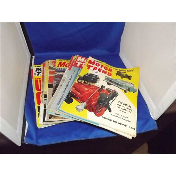 MOTOR TREND MAGAZINES 1950'S TO 1970'S 16 IN A LOT
