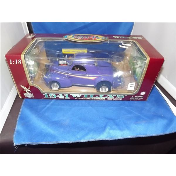 DIE CAST 1941 WILLYS COUPE