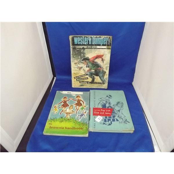 3 VINTAGE BOOKS