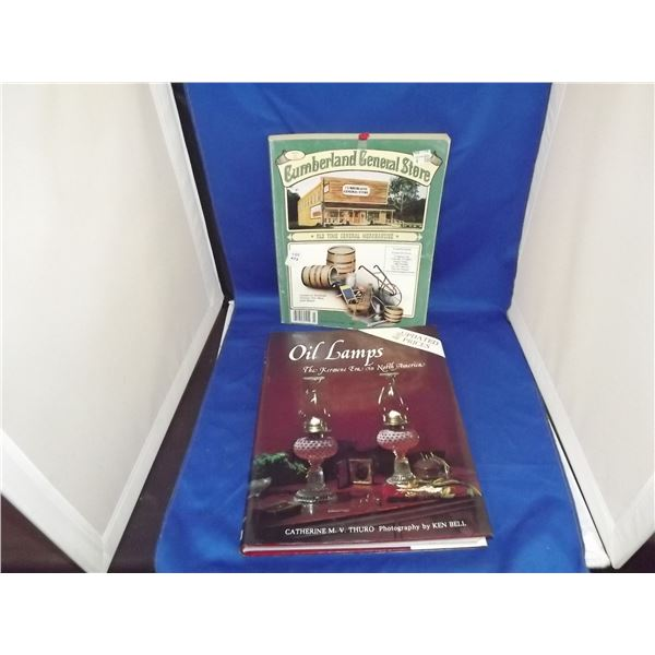 1998 OIL LAMP IDENTIFICATION CATALOG AND A CUMBERLAND GENERAL STORE CATALOG