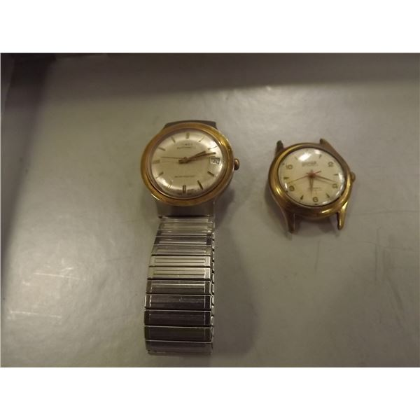 2 VINTAGE MENS WATCHES