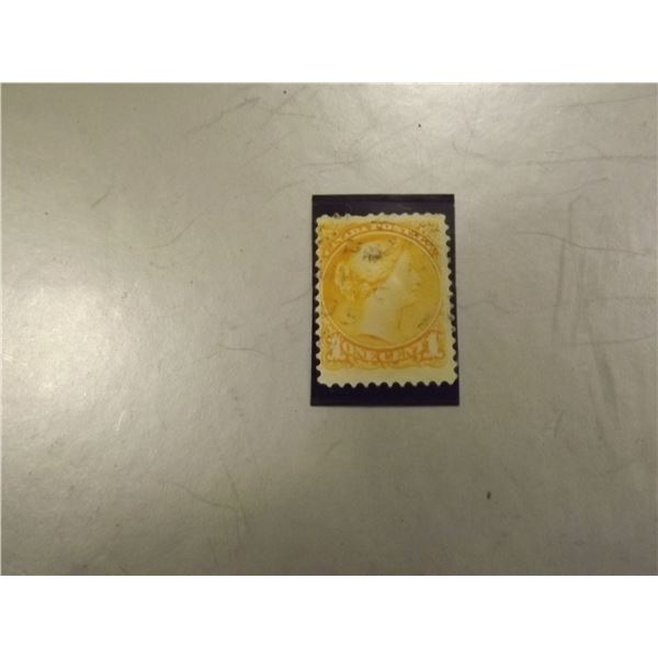 187 CANADIAN ONE CENT STAMP0