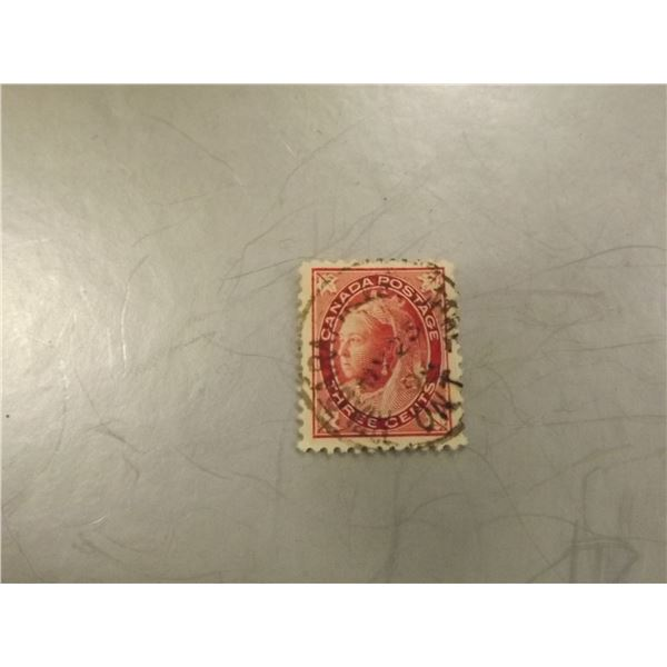 189CANADIAN 3 CENT STAMP8