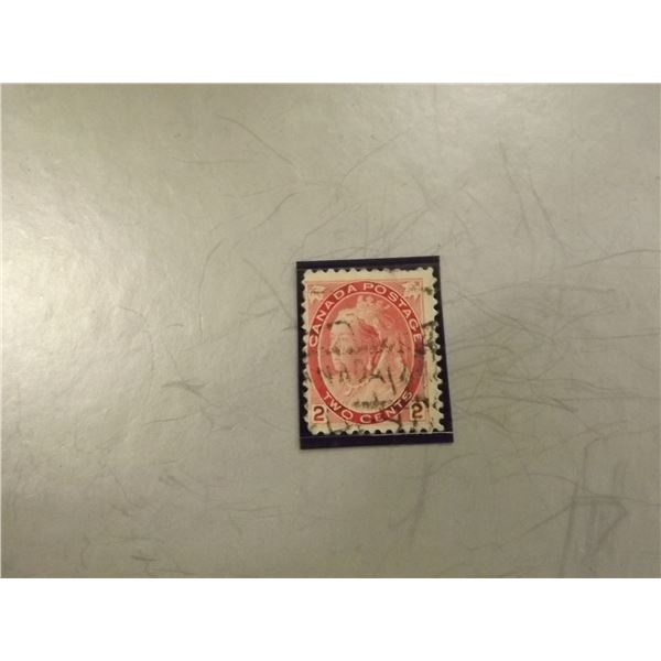 1899 CANADIAN 2 CENT STAMP