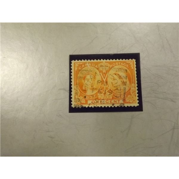 1897 CANADIAN 1 CENT STAMP