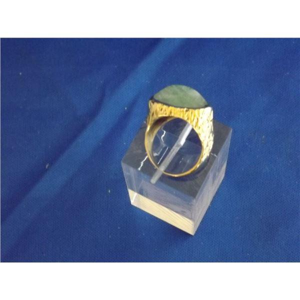 LADIES 18K YELLOW GOLD RING SIZE 6.25 ARV $3000