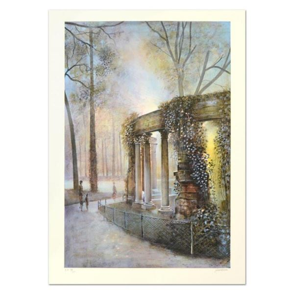 """Antonio Rivera, """"Luxembourg"""" Limited Edition Lithograph, Numbered and Hand Signe"""