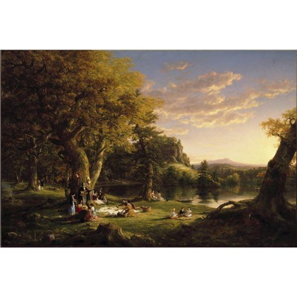 Thomas Cole - The Picnic