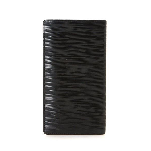 Louis Vuitton Black Epi Leather Breast Pocket Wallet
