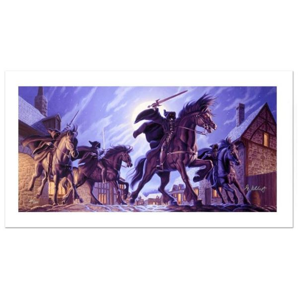 """""""The Black Riders"""" Limited Edition Giclee on Canvas by The Brothers Hildebrandt."""