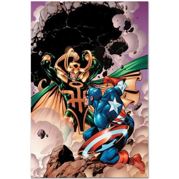 """Marvel Comics """"Last Hero Standing #5"""" Numbered Limited Edition Giclee on Canvas"""