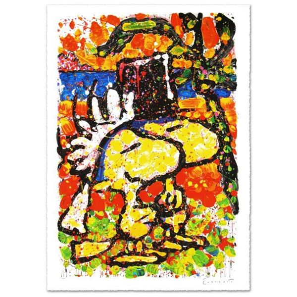 """""""Hitched"""" Limited Edition Hand Pulled Original Lithograph (26"""" x 39"""") by Renowne"""
