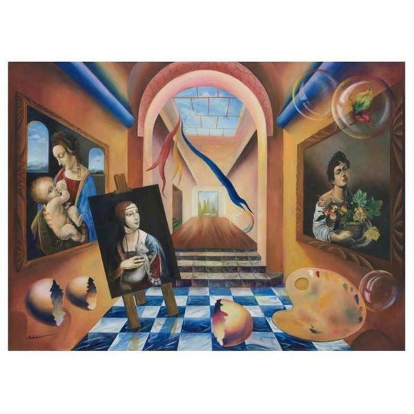 """Alexander Astahov, """"The Artist"""" Hand Signed Limited Edition Giclee on Canvas wit"""