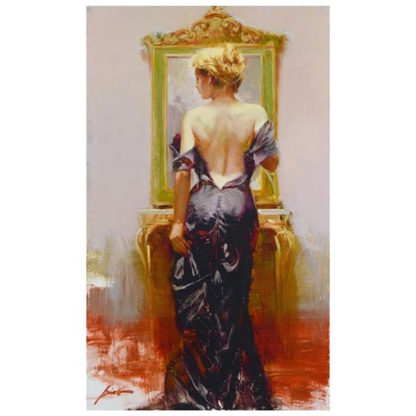 """Pino (1939-2010), """"Evening Elegance"""" Limited Edition Artist-Embellished Giclee o"""