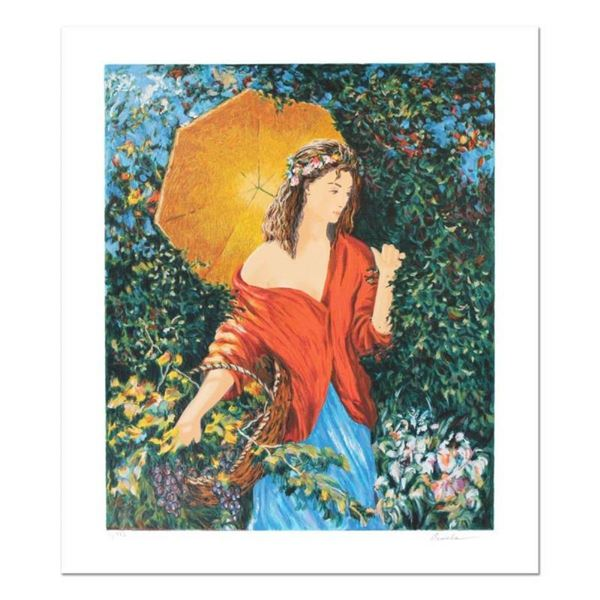 """Igor Semeko, """"After the Rain"""" Hand Signed Limited Edition Serigraph with Letter"""