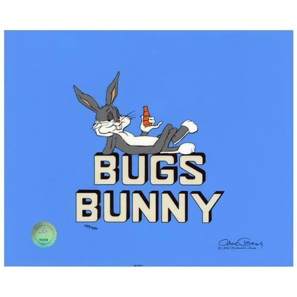 """Chuck Jones """"Title """"Bugs Bunny"""""""" Hand Signed, Hand Painted Limited Edition Seric"""
