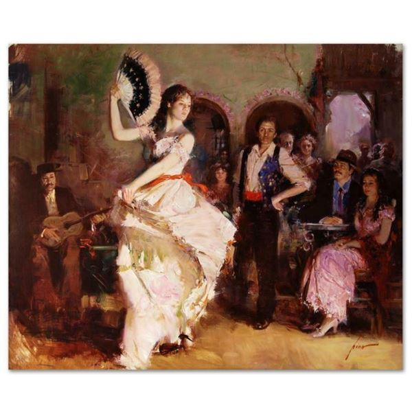 """Pino (1939-2010), """"The Last Dance"""" Artist Embellished Limited Edition on Canvas"""