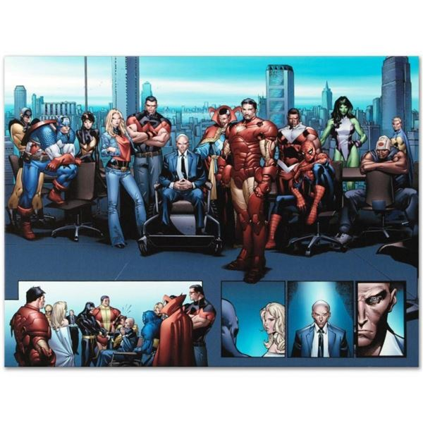 """Marvel Comics """"House of M MGC #1"""" Numbered Limited Edition Giclee on Canvas by O"""