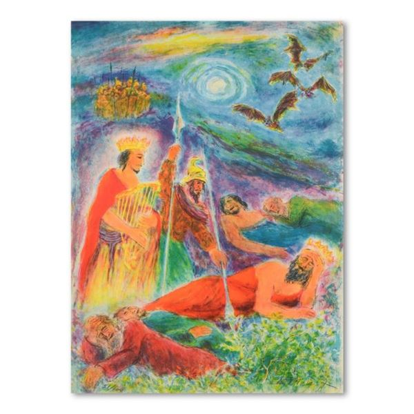 """Ira Moskowitz (1912-2001), """"Song of Songs"""" Limited Edition Lithograph, Numbered"""