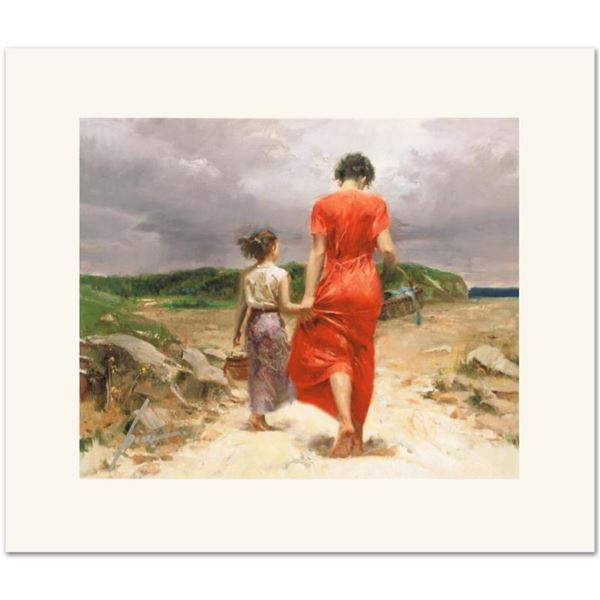 """Pino (1931-2010), """"Homeward Bound"""" Limited Edition on Canvas, Numbered and Hand"""