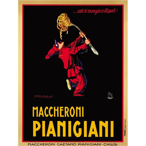 Achille Mauzan - Maccheroni Pianigiani