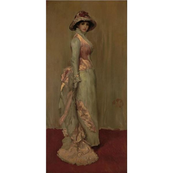Whistler - Harmony in Pink and Gray