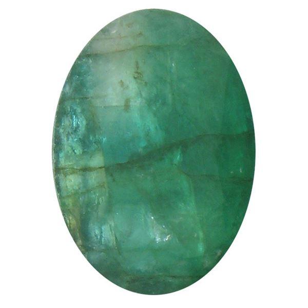 3.78 ctw Oval Emerald Parcel