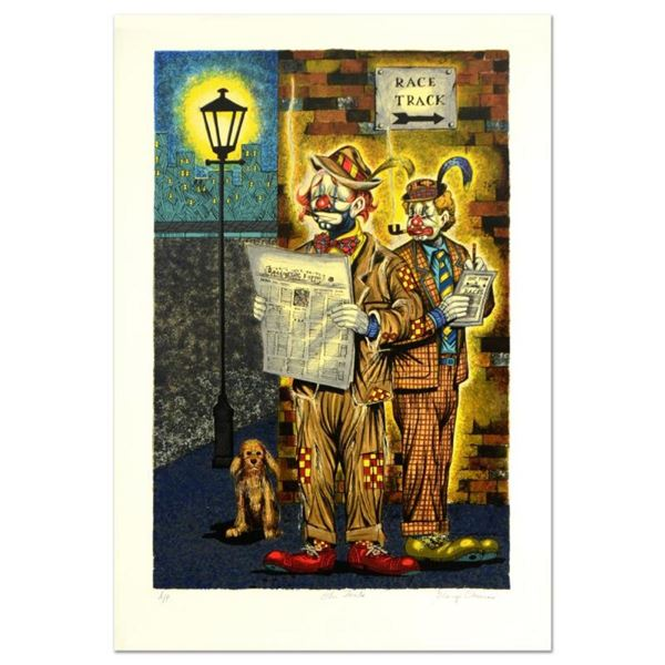 """George Crionas (1925-2004), """"The Gents"""" Limited Edition Lithograph, Numbered and"""