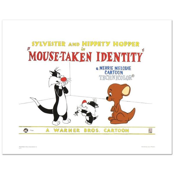 """""""Mouse-Taken Identity"""" Limited Edition Giclee from Warner Bros., Numbered with H"""