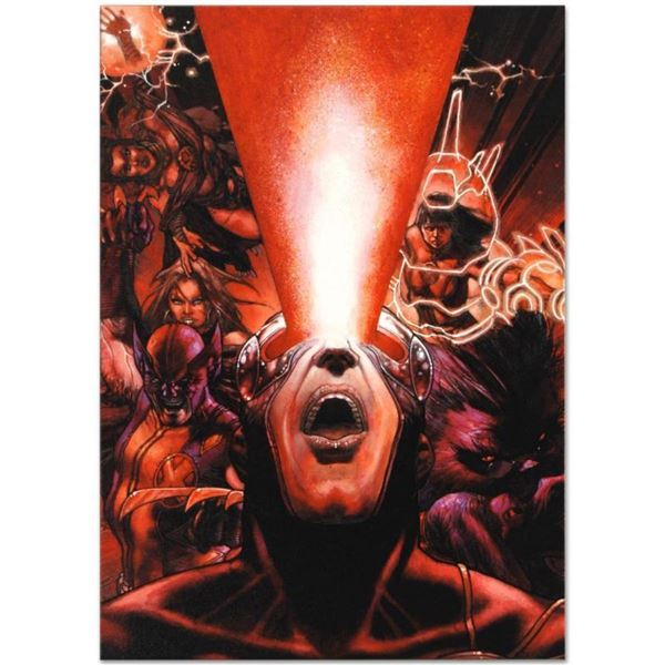 """Marvel Comics """"Astonishing X-Men #30"""" Numbered Limited Edition Giclee on Canvas"""