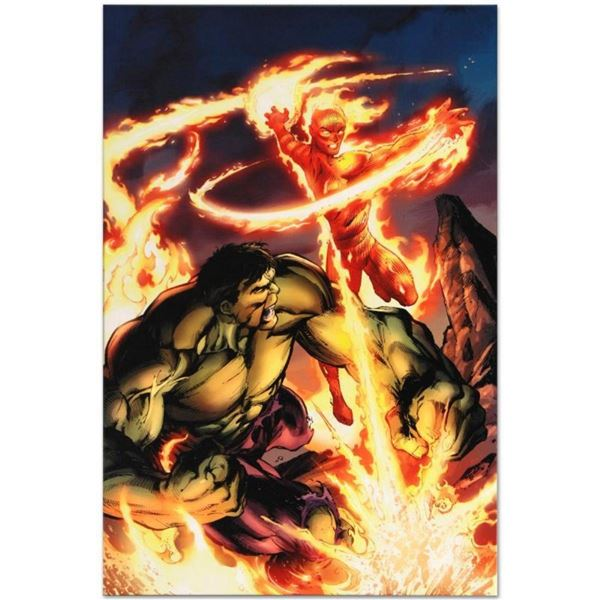 """Marvel Comics """"Incredible Hulk & The Human Torch: From the Marvel Vault #1"""" Numb"""