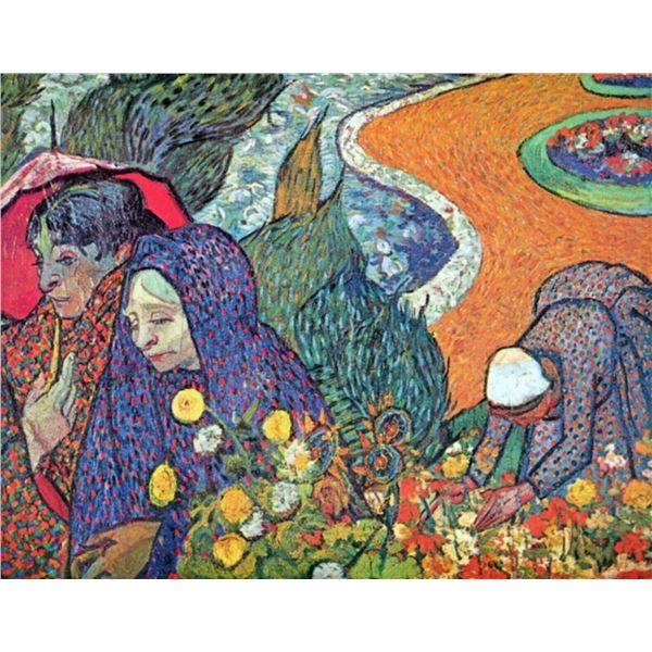 Van Gogh - Promenade In Arles