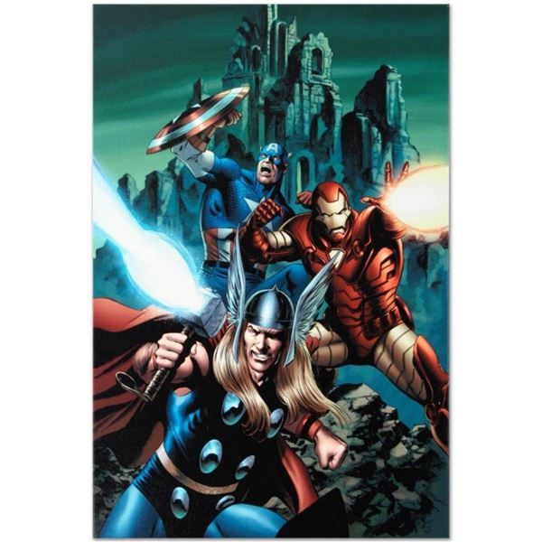 """Marvel Comics """"Thor #81"""" Numbered Limited Edition Giclee on Canvas by Steve Epti"""