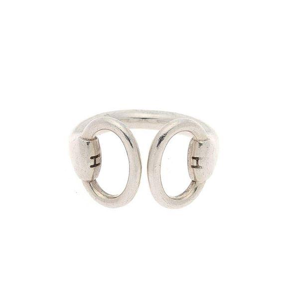 Hermes Silver Nausicaa US 4 Ring