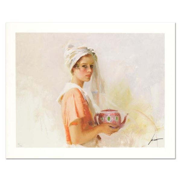 """Pino (1939-2010) """"The Gift"""" Limited Edition Giclee. Numbered and Hand Signed; Ce"""