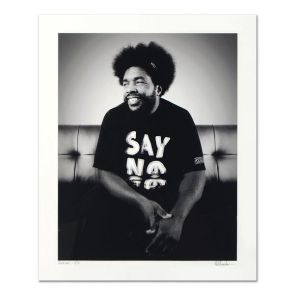 """Rob Shanahan, """"Questlove"""" Hand Signed Limited Edition Giclee with Certificate of"""